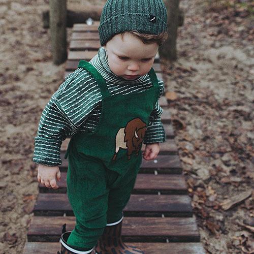 CarlijnQ Knitted Sweater Striped Green (Trui)-7