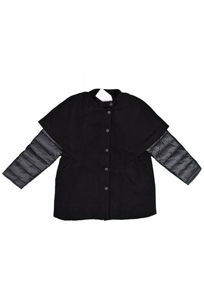 i leoncini Girl Jacket Black (Jas)