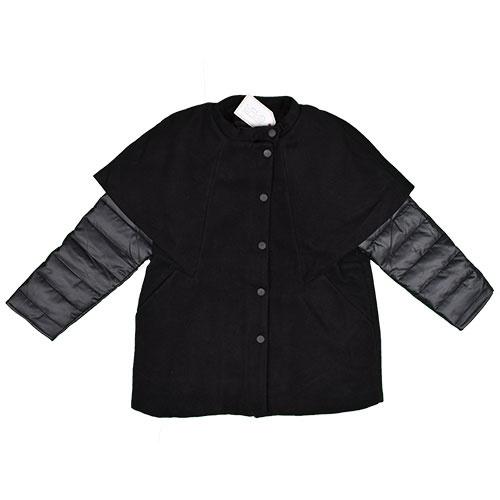 i leoncini Girl Jacket Black (Jas)-1
