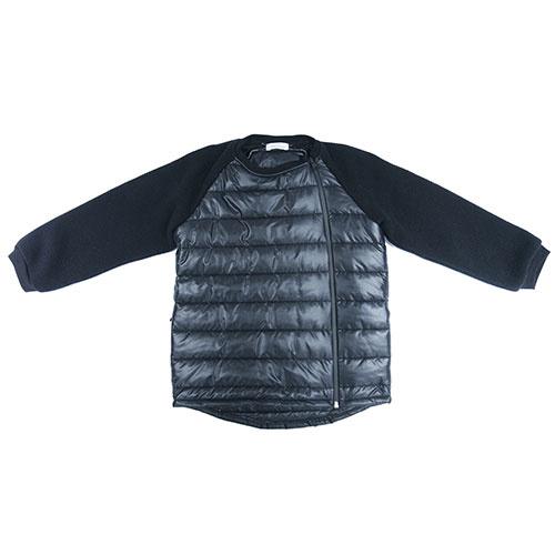 i leoncini Boy Jacket Black (Jas)-1