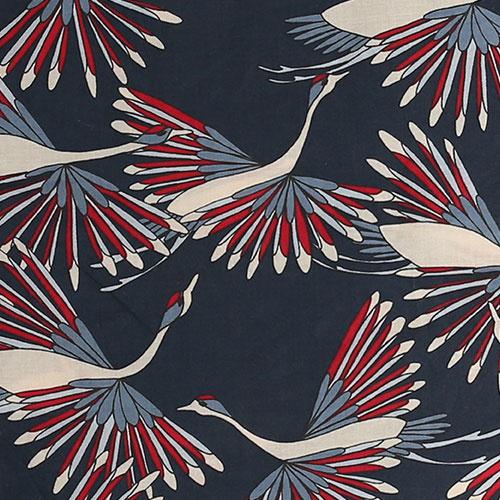 i leoncini Shirt with Peacock Print (Blouse)-5