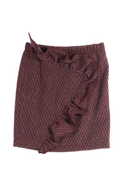 i leoncini Skirt with Ruffle Detail (Rok)