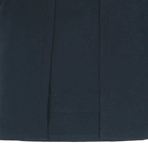 i leoncini Longsleeve with Grosgrain Detail Black (T-shirt)-3