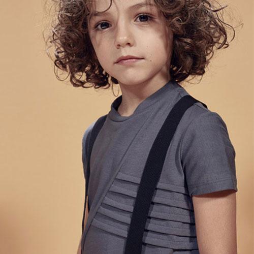 i leoncini Suspenders Black (Bretels)-2