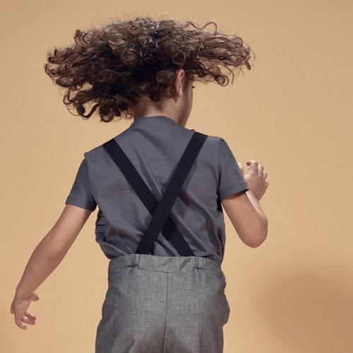 i leoncini Suspenders Black (Bretels)-3