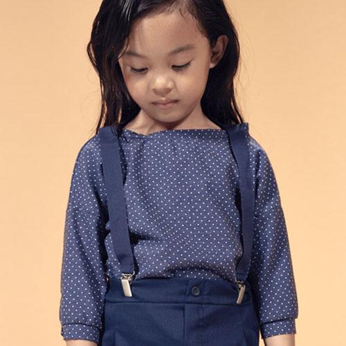 i leoncini Suspenders Blue (Bretels)-2