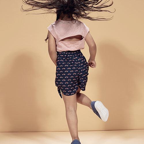 i leoncini High Waist Shorts Organic Cotton Robins (Korte broek)-2