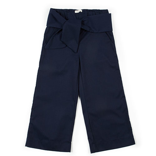 i leoncini Pantalazzo Pique Pants blue (Broek)-1
