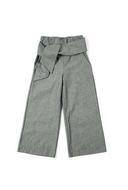 i leoncini Pantalazzo Pants Organic Cotton grey (Broek)