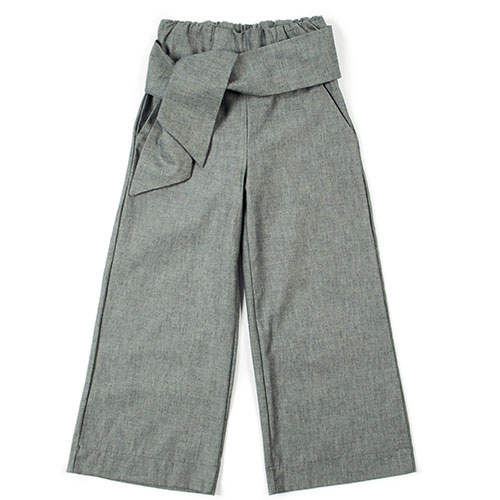 i leoncini Pantalazzo Pants Organic Cotton grey (Broek)-1