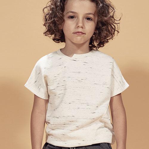 i leoncini Melange SS Sweatshirt unisex (Shirt)-2