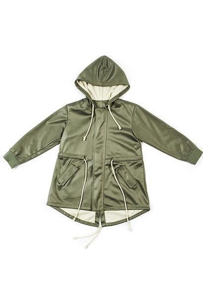 i leoncini Parka Military Green Unisex Jacket (Jas)