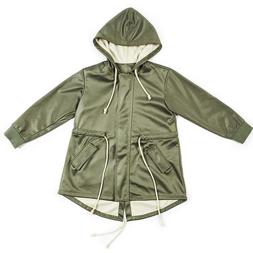 i leoncini Parka Military Green Unisex Jacket (Jas)-1