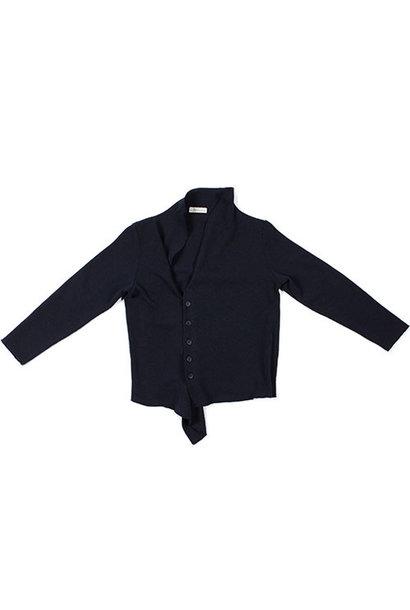 i leoncini Knitted Blazer blue (Vest)