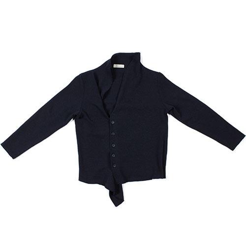 i leoncini Knitted Blazer blue (Vest)-1
