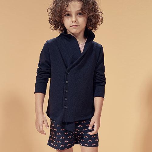 i leoncini Shorts Organic Cotton Robins-2