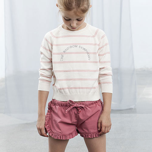 Tocoto Vintage Twill Shorts with Frills (Korte Broek)-2