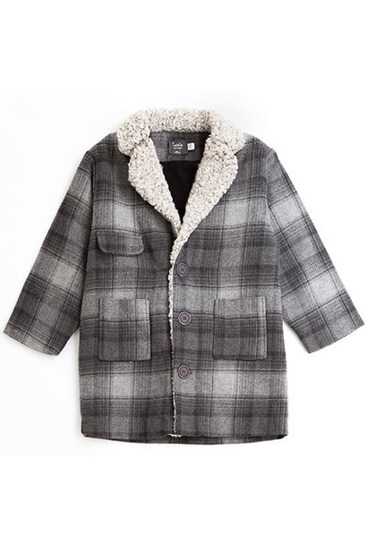 Tocoto Vintage Checkered Coat (Jas)