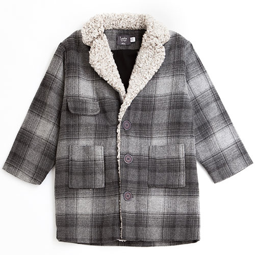 Tocoto Vintage Checkered Coat (Jas)-1