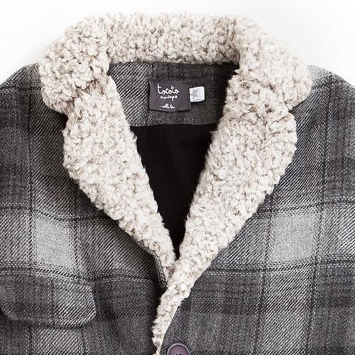 Tocoto Vintage Checkered Coat (Jas)-3