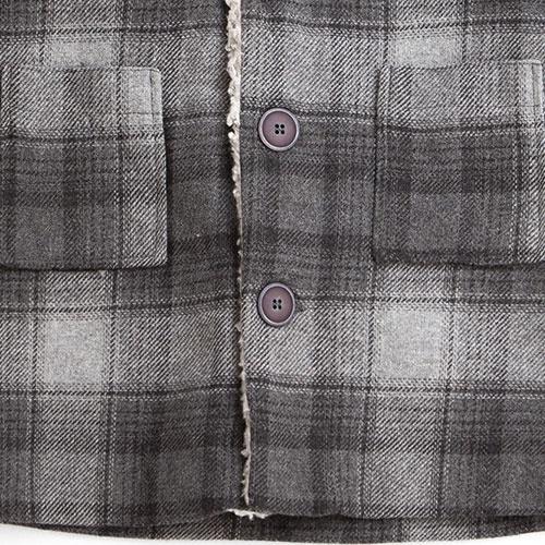 Tocoto Vintage Checkered Coat (Jas)-4