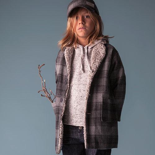 Tocoto Vintage Checkered Coat (Jas)-6