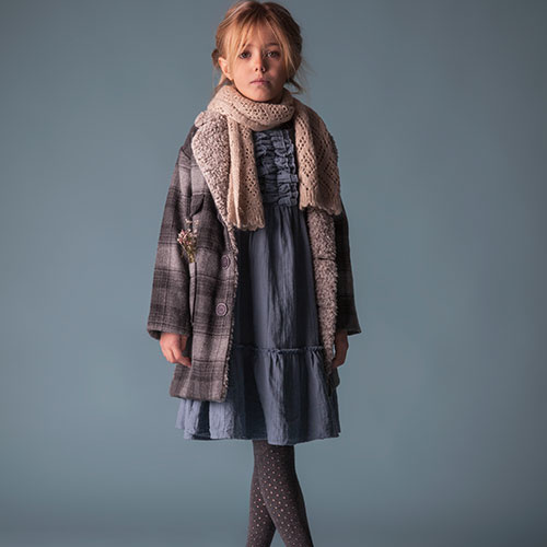 Tocoto Vintage Checkered Coat (Jas)-7