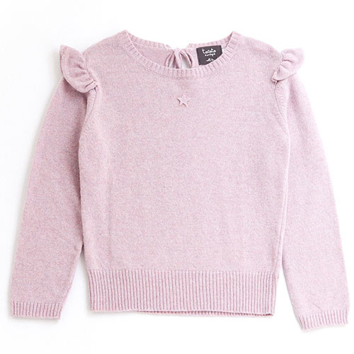 Tocoto Vintage Girl Knitted Cardigan (Trui)-1