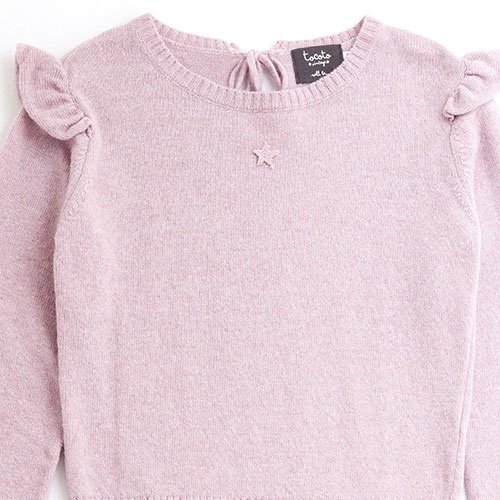 Tocoto Vintage Girl Knitted Cardigan (Trui)-3