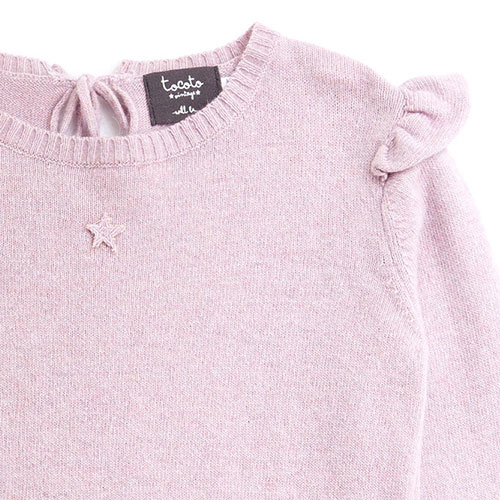 Tocoto Vintage Girl Knitted Cardigan (Trui)-4