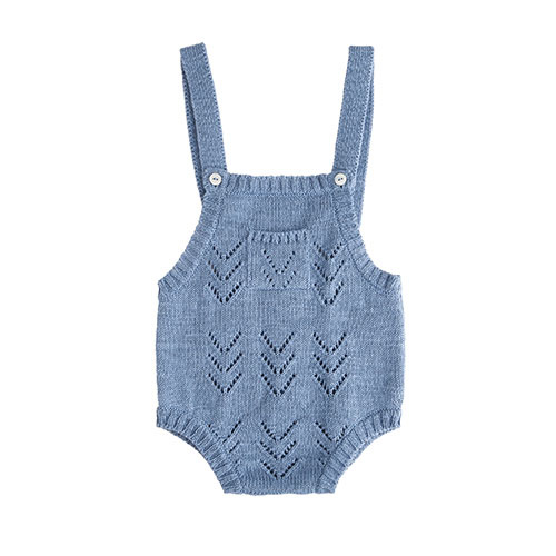 Tocoto Vintage Knitted Body (Romper)-1