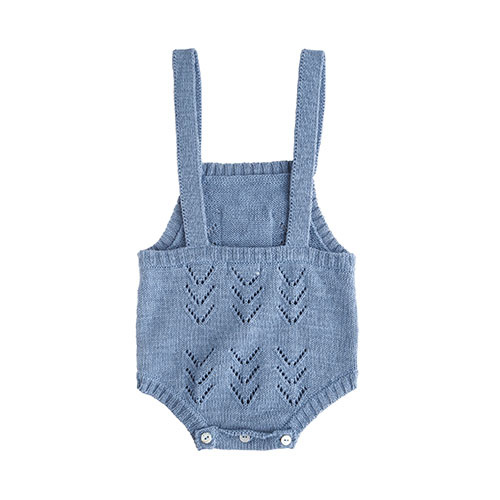 Tocoto Vintage Knitted Body (Romper)-3