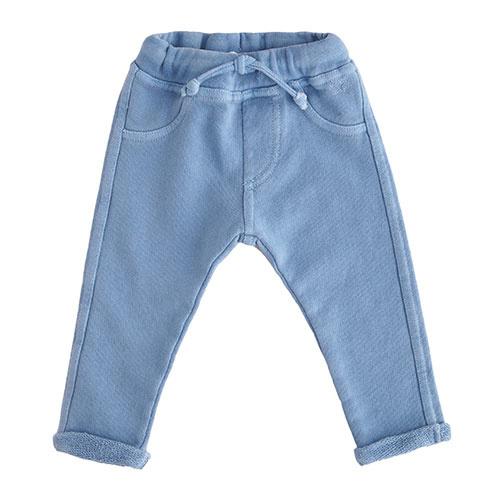 Tocoto Vintage Baby Fleece Pants Blue (Broek)-1