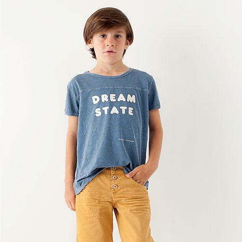 Tocoto Vintage Dream State Shirt Blue (T-shirt)-1