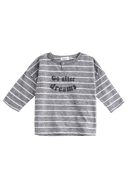 Tocoto Vintage Go After Dreams Longsleeve Grey (Shirt)