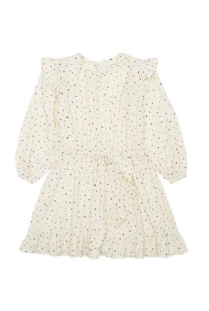 Soft Gallery Ea Dress Tapioca AOP Trio Dotties B (Jurk)