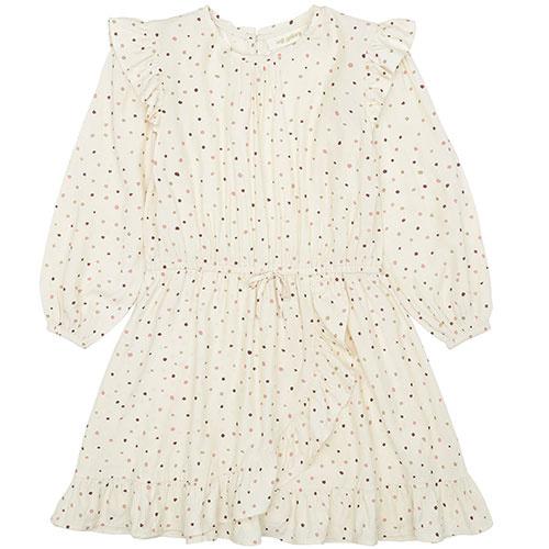 Soft Gallery Ea Dress Tapioca AOP Trio Dotties B (Jurk)-1