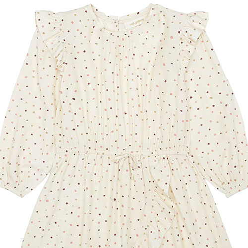 Soft Gallery Ea Dress Tapioca AOP Trio Dotties B (Jurk)-2