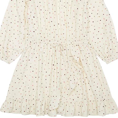 Soft Gallery Ea Dress Tapioca AOP Trio Dotties B (Jurk)-5