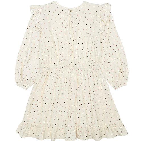 Soft Gallery Ea Dress Tapioca AOP Trio Dotties B (Jurk)-6