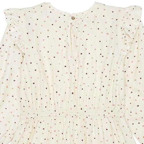 Soft Gallery Ea Dress Tapioca AOP Trio Dotties B (Jurk)-7