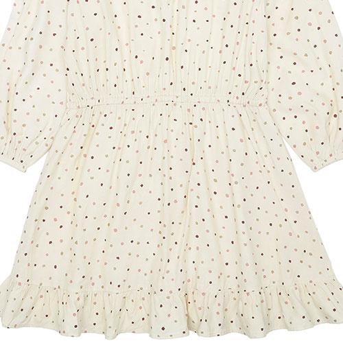 Soft Gallery Ea Dress Tapioca AOP Trio Dotties B (Jurk)-8