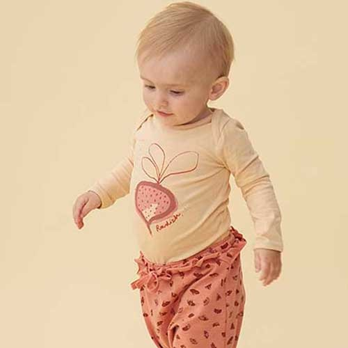 Soft Gallery Bob Body Winter Wheat Radish (Romper)-2