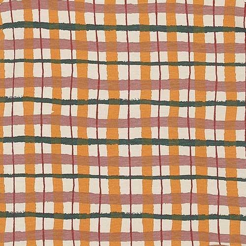Soft Gallery Dalton Body Winter Wheat AOP Check (Romper)-5
