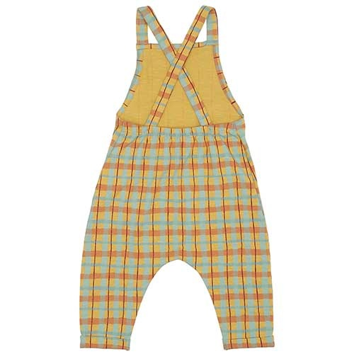 Soft Gallery Fanette Dungarees Narcissus AOP Check (Overall)-6