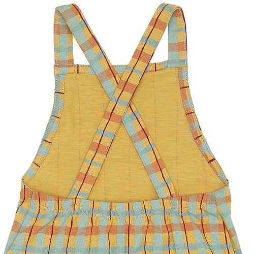 Soft Gallery Fanette Dungarees Narcissus AOP Check (Overall)-7