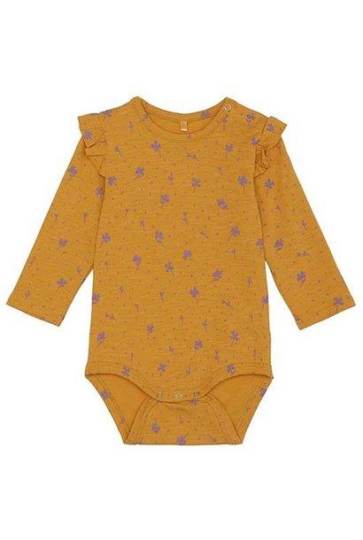Soft Gallery Fifi Body Sunflower AOP Clover (Romper)