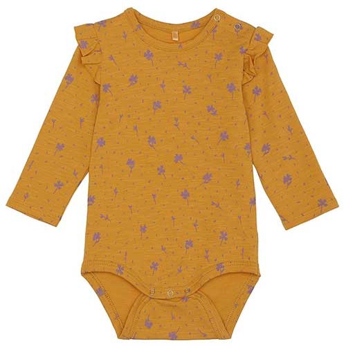Soft Gallery Fifi Body Sunflower AOP Clover (Romper)-1