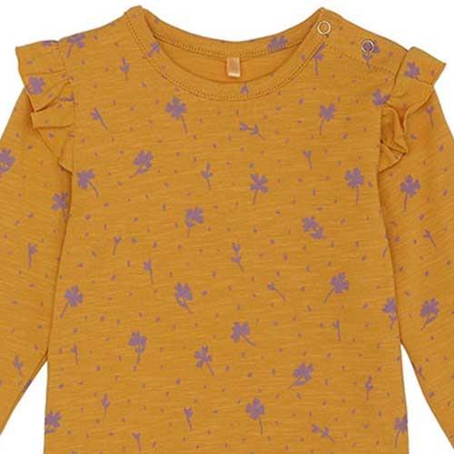 Soft Gallery Fifi Body Sunflower AOP Clover (Romper)-3