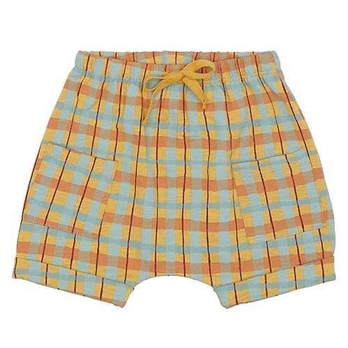 Soft Gallery Flair Shorts Narcissus AOP Check (Korte Broek)-1